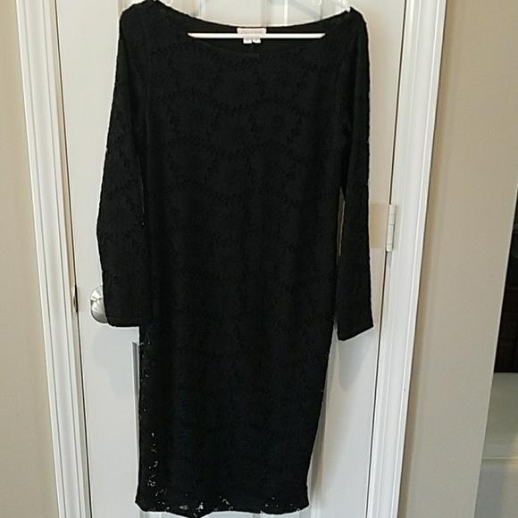 11e8d7ab8de33 Ingrid & Isabel Dresses & Skirts - Black lace maternity dress Ingrid and  Isabelle